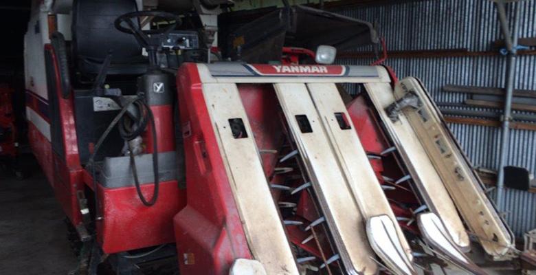 売却されたヤマハのコンバインGC45