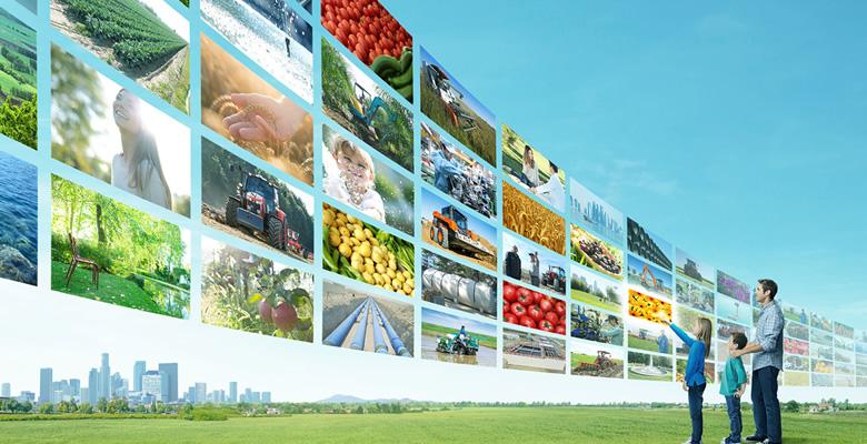 世界的にシェアを広げるクボタ公式ページのイメージ画像
