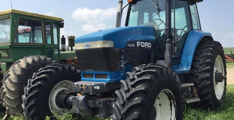 フォードの中古農機具