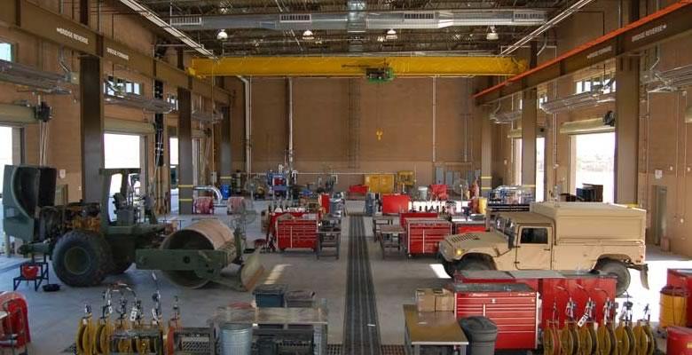 海外の整備工場