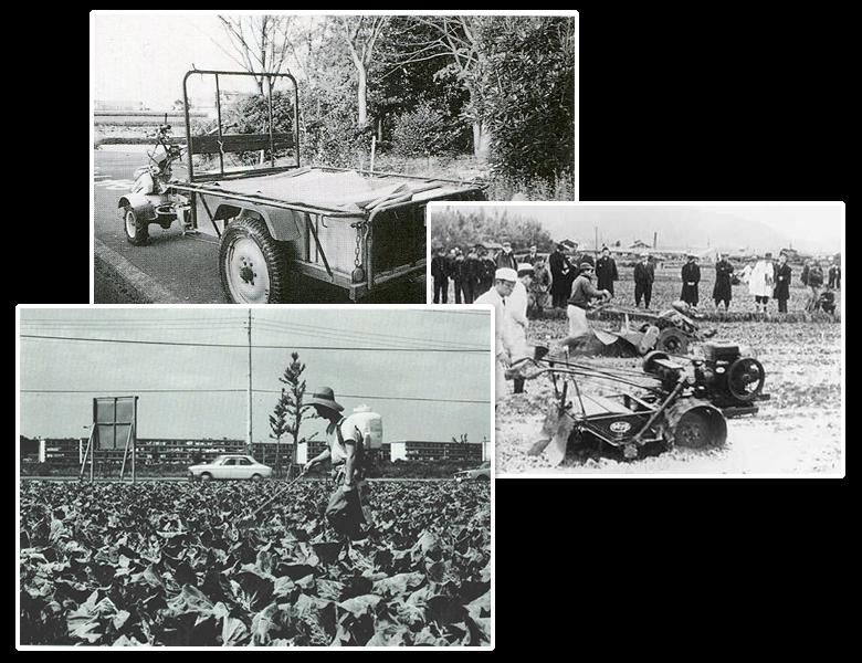 戦後に普及した農業機械