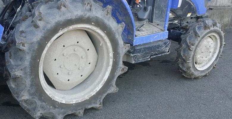農機具のタイヤ